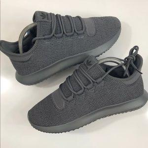 NEW Wmns Adidas Tubular Shadow Dark Grey
